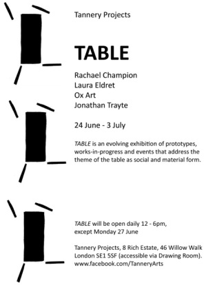 table A5 flyer